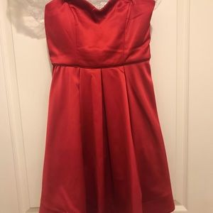 Red Dress junior size